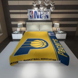 Indiana Pacers NBA Basketball Duvet Cover 1