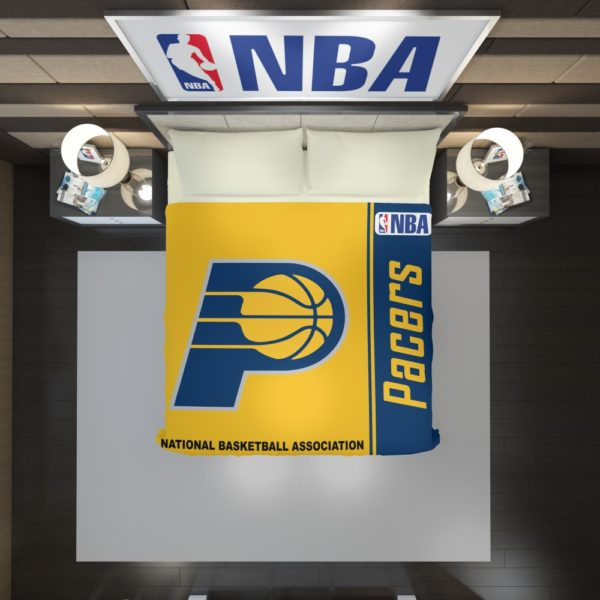 Indiana Pacers NBA Basketball Duvet Cover 2