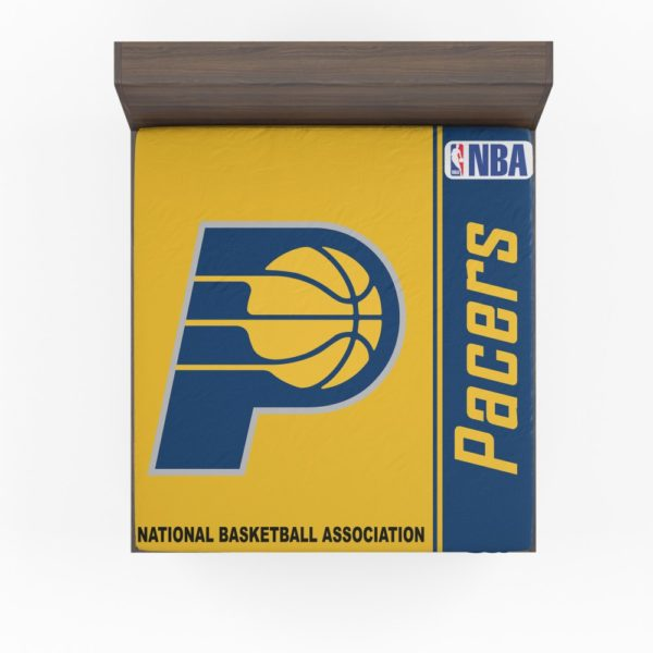 Indiana Pacers NBA Basketball Fitted Sheet
