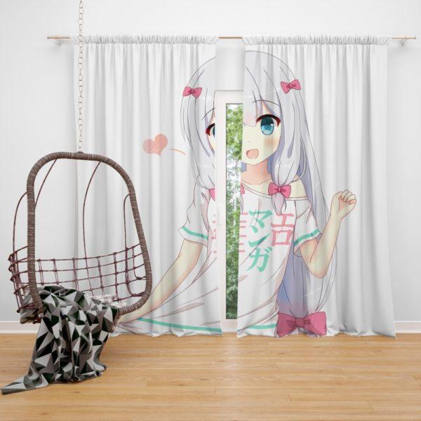 Izumi Sagiri Eromanga Sensei Bedroom Window Curtain