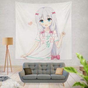 Izumi Sagiri Eromanga Sensei Wall Hanging Tapestry