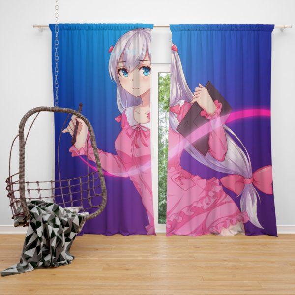 Izumi Sagiri Japanese Anime Bedroom Window Curtain