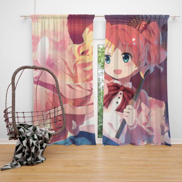 Kiniro Mosaic Tatsuya Yuuki Japanese Anime Bedroom Window Curtain