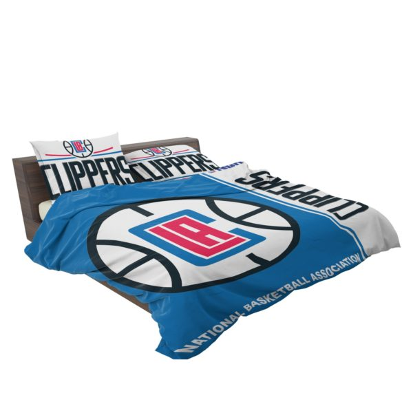 LA Clippers NBA Basketball Bedding Set 3
