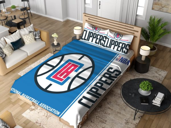 LA Clippers NBA Basketball Bedding Set 4