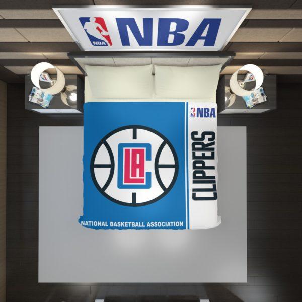 LA Clippers NBA Basketball Duvet Cover 2