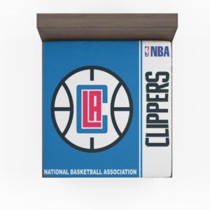 LA Clippers NBA Basketball Fitted Sheet