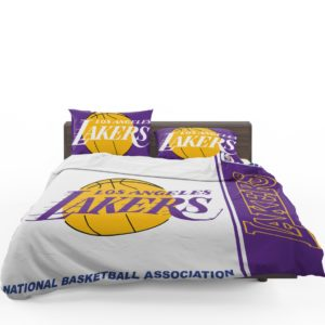 Los Angeles Lakers NBA Basketball Bedding Set 1