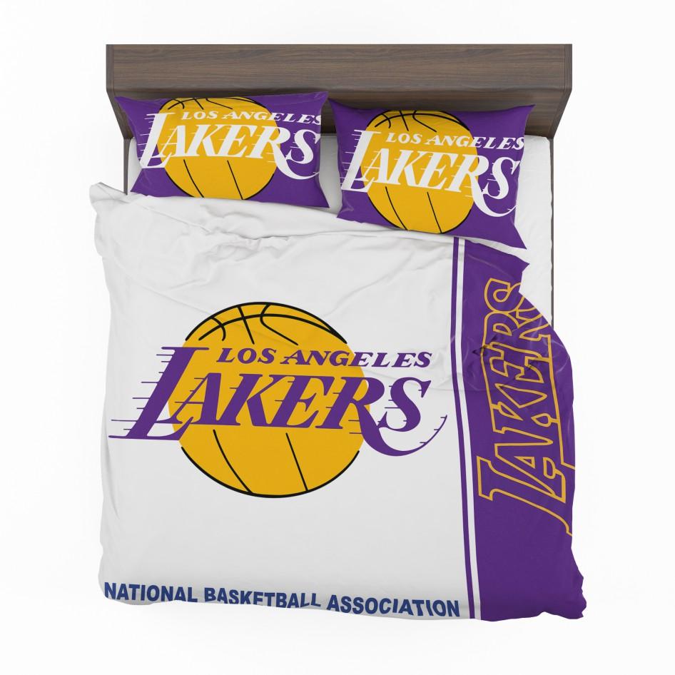 Nba Basketball Los Angeles Lakers: Los Angeles Lakers NBA Basketball Bedding Set
