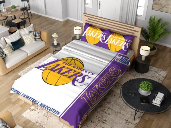 Los Angeles Lakers NBA Basketball Bedding Set 4