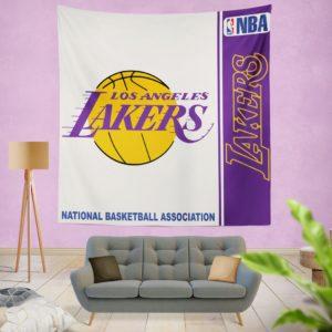 Los Angeles Lakers NBA Basketball Bedroom Wall Hanging Tapestry