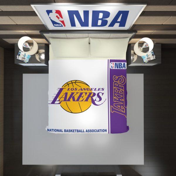 Los Angeles Lakers NBA Basketball Duvet Cover 2