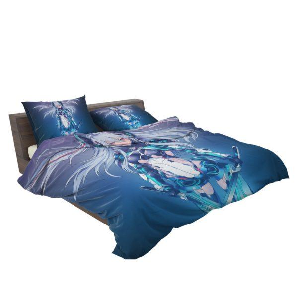Mecha Girl Cute Anime Bedding Set 3