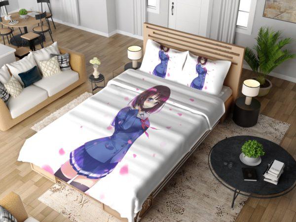 Megumi Kato Anime Girl Bedding Set 4
