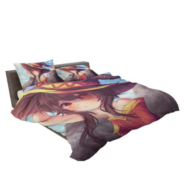 Megumin Konosuba Fairy Tail Anime Bedding Set 3