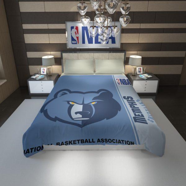 Memphis Grizzlies NBA Basketball Duvet Cover 1