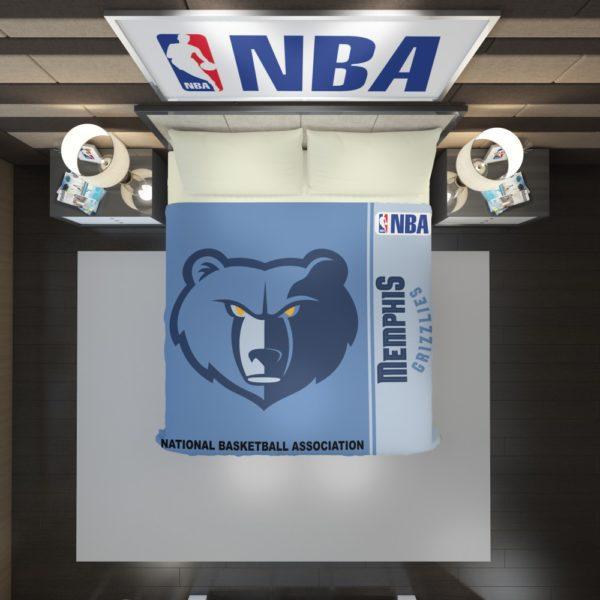 Memphis Grizzlies NBA Basketball Duvet Cover 2