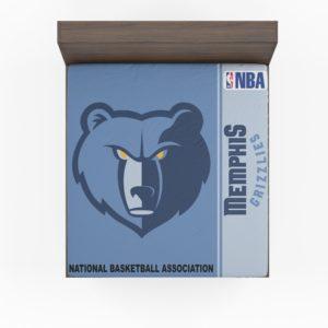 Memphis Grizzlies NBA Basketball Fitted Sheet
