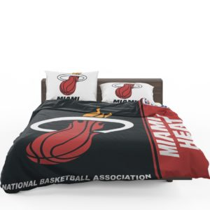 Miami Heat NBA Basketball Bedding Set 1