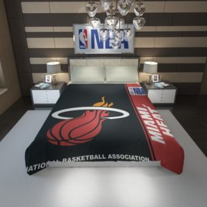 Miami Heat NBA Basketball Duvet Cover 1