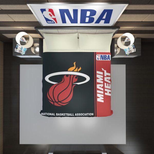 Miami Heat NBA Basketball Duvet Cover 2