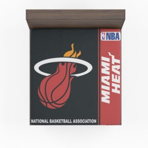 Miami Heat NBA Basketball Fitted Sheet