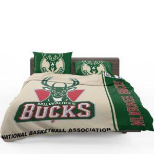 Milwaukee Bucks NBA Basketball Bedding Set 1