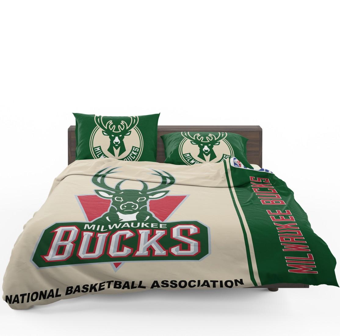Milwaukee Bucks Nba Basketball Bedding Set Ebeddingsets