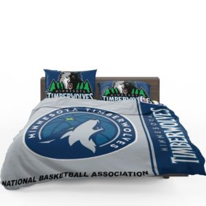 Minnesota Timberwolves NBA Basketball Bedding Set 1