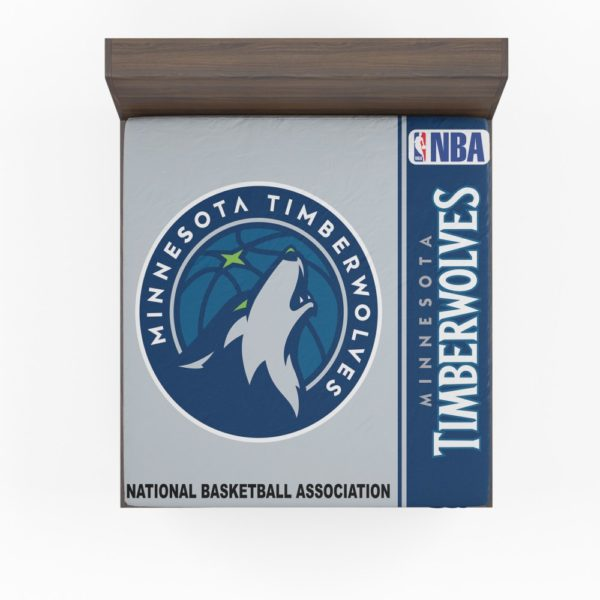 Minnesota Timberwolves NBA Basketball Fitted Sheet