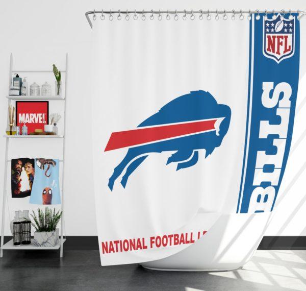NFL Buffalo Bills Shower Curtain