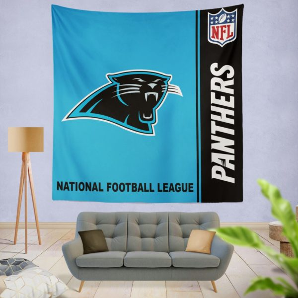NFL Carolina Panthers Wall Hanging Tapestry