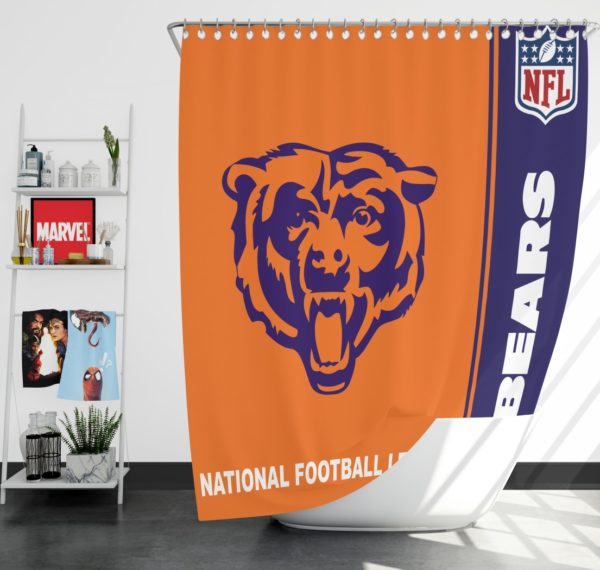 NFL Chicago Bears Shower Curtain