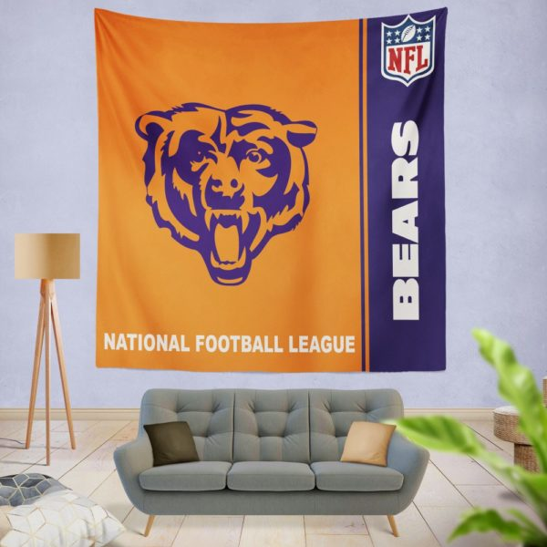 NFL Chicago Bears Wall Hanging Tapestry