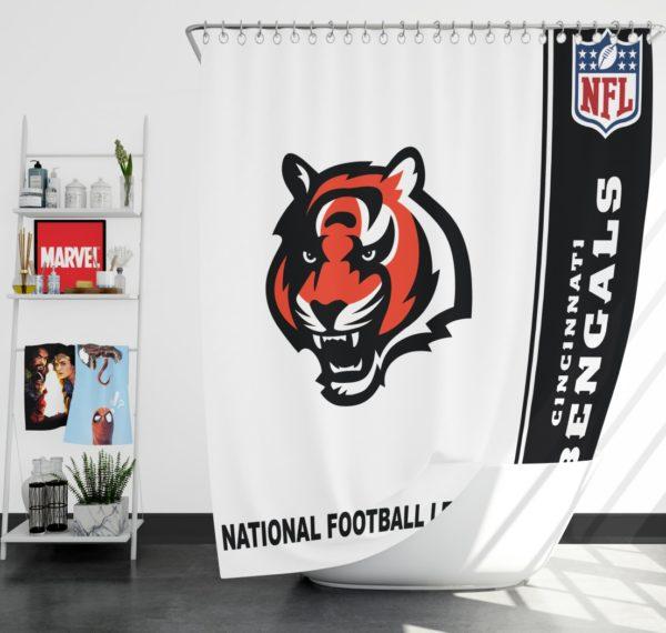 NFL Cincinnati Bengals Shower Curtain