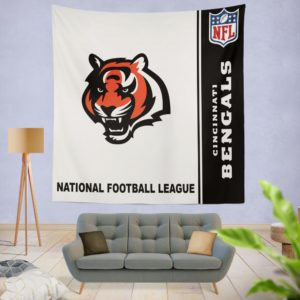 NFL Cincinnati Bengals Wall Hanging Tapestry
