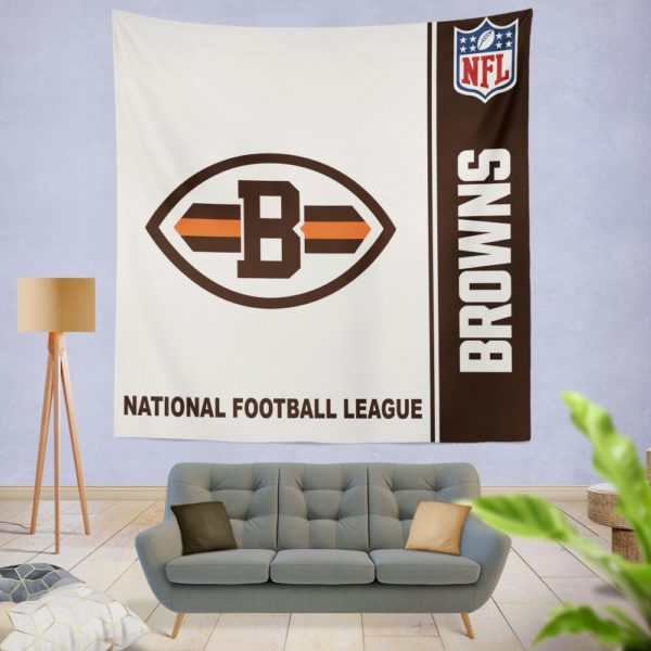 NFL Cleveland Browns Wall Hanging Tapestry