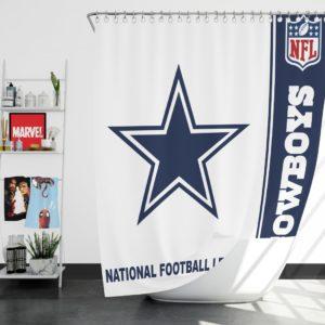 NFL Dallas Cowboys Shower Curtain