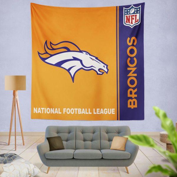 NFL Denver Broncos Wall Hanging Tapestry