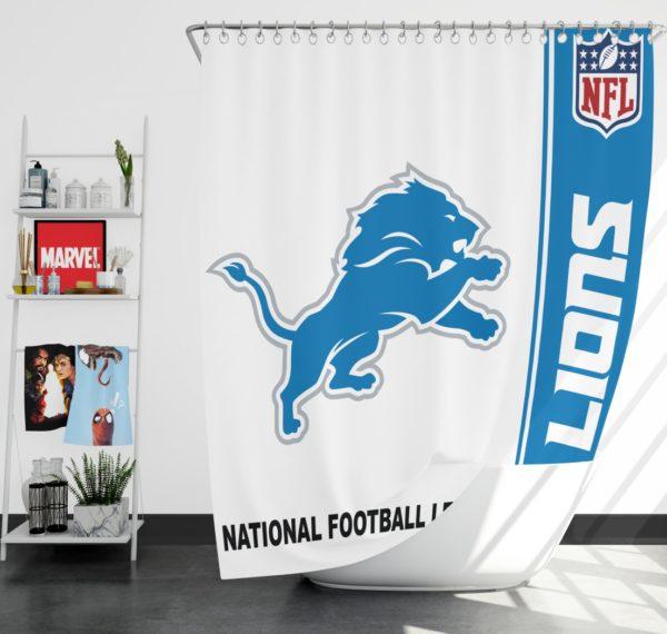 NFL Detroit Lions Shower Curtain