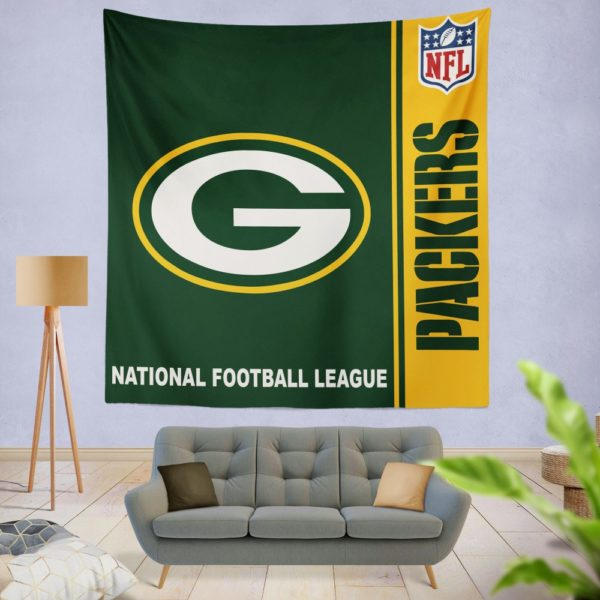 NFL Green Bay Packers Wall Hanging Tapestry
