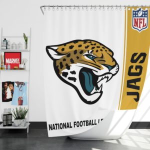NFL Jacksonville Jaguars Shower Curtain