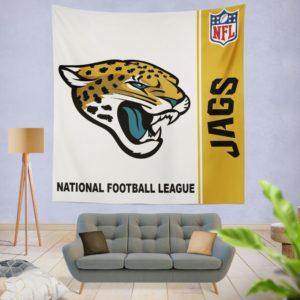 NFL Jacksonville Jaguars Wall Hanging Tapestry