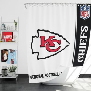 NFL Kansas City Chiefs Shower Curtain