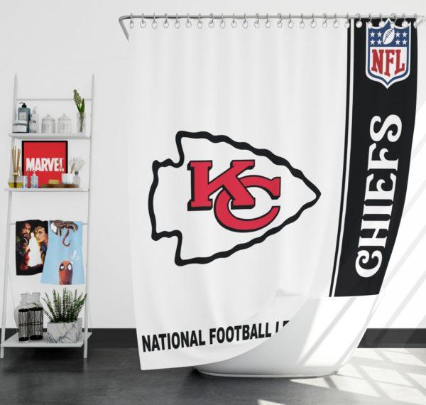 NFL Kansas City Chiefs Shower Curtain