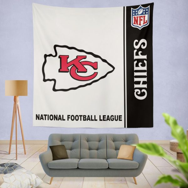 NFL Kansas City Chiefs Wall Hanging Tapestry