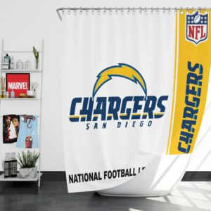 NFL Los Angeles Chargers Shower Curtain