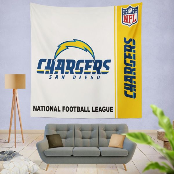 NFL Los Angeles Chargers Wall Hanging Tapestry