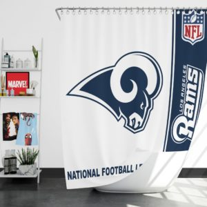 NFL Los Angeles Rams Shower Curtain