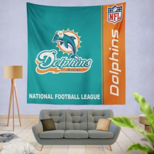 NFL Miami Dolphins Wall Hanging Tapestry
